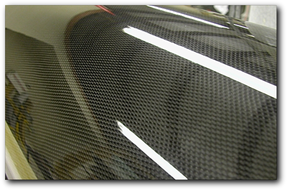 Carbon tube close-up