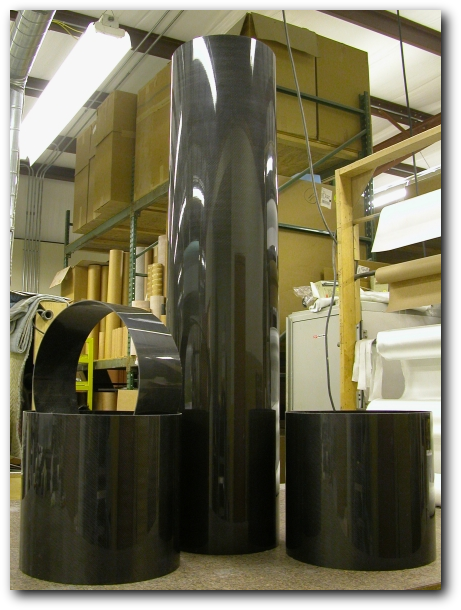 Large sample tubes